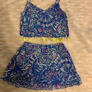 Lilly Pulitzer two pice set